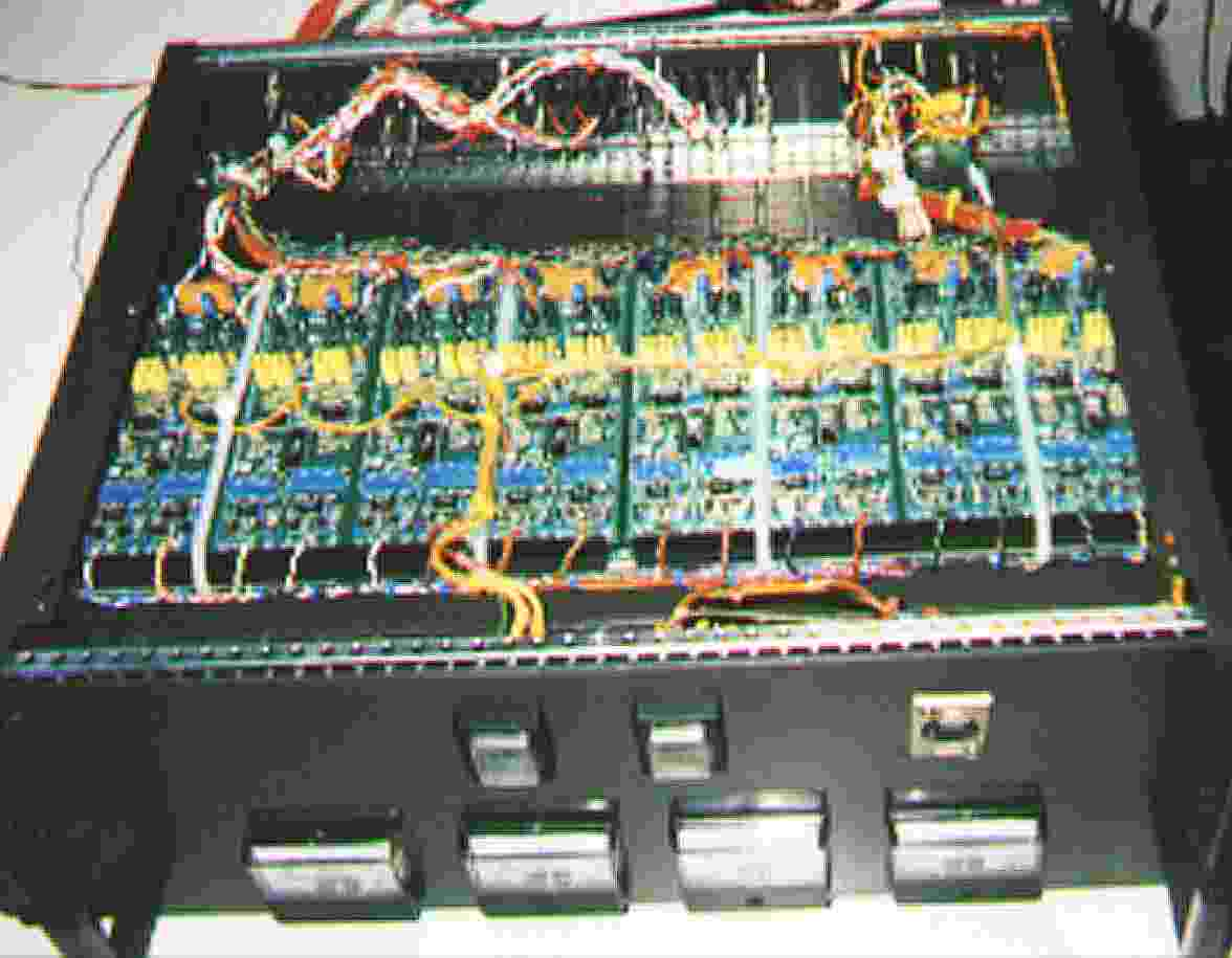 An interior view of the 16 channel deckbox receiver.